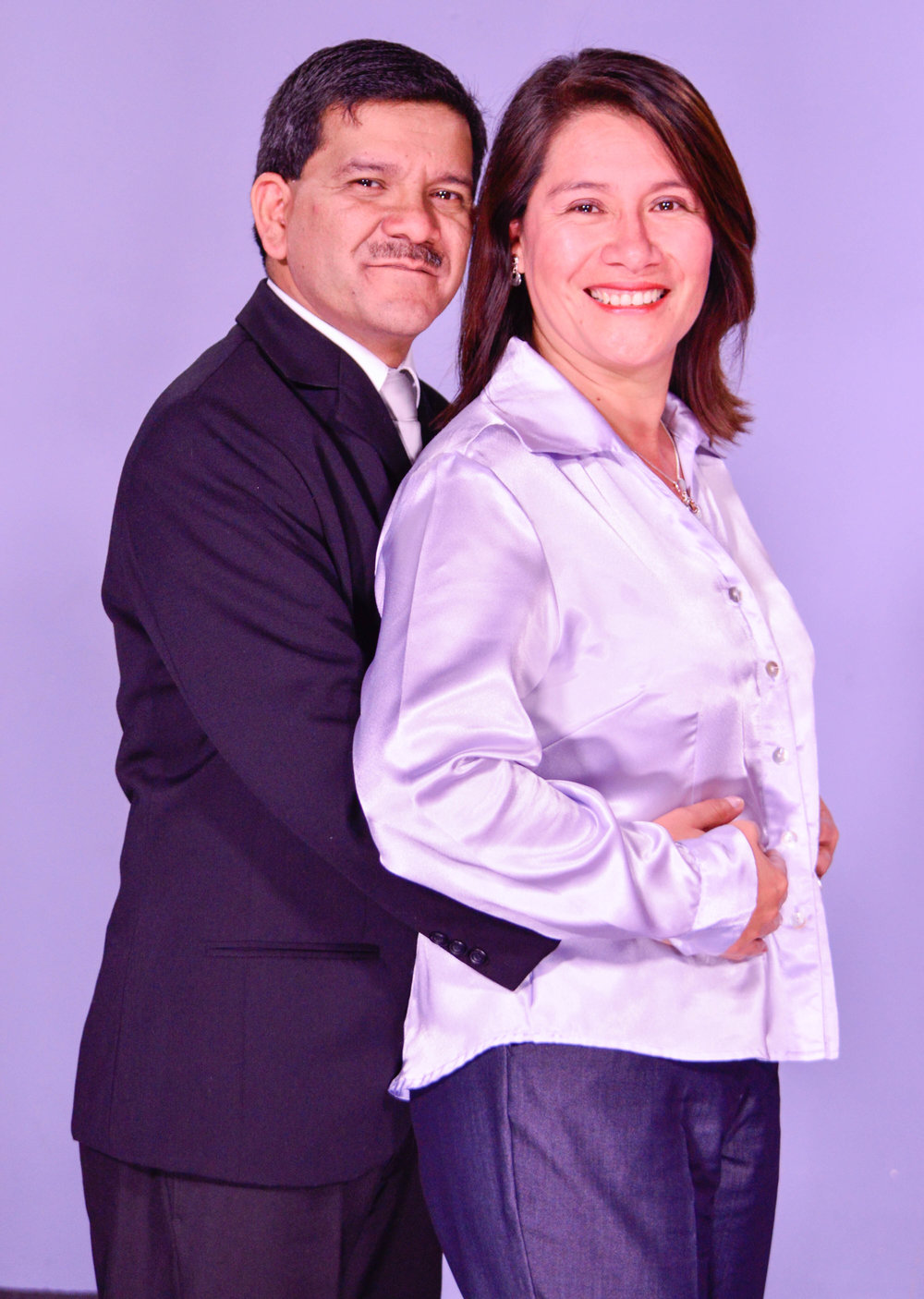 Pastores Gustavo y Lucila de García-Salas