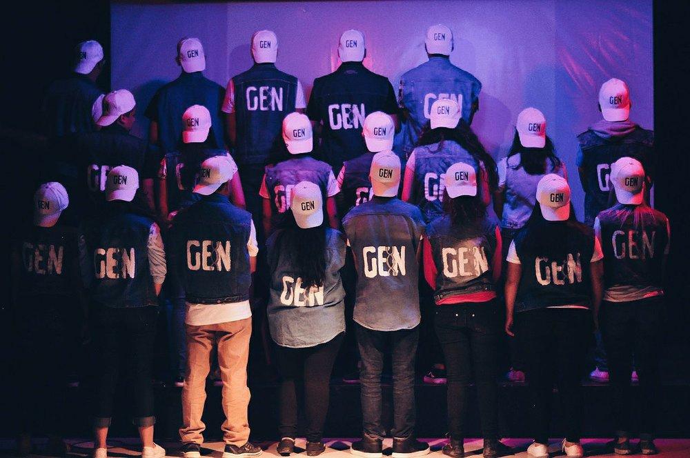 GENERACIÓN  GENeración somos un grupo de adolescentes de 12 a 15 años