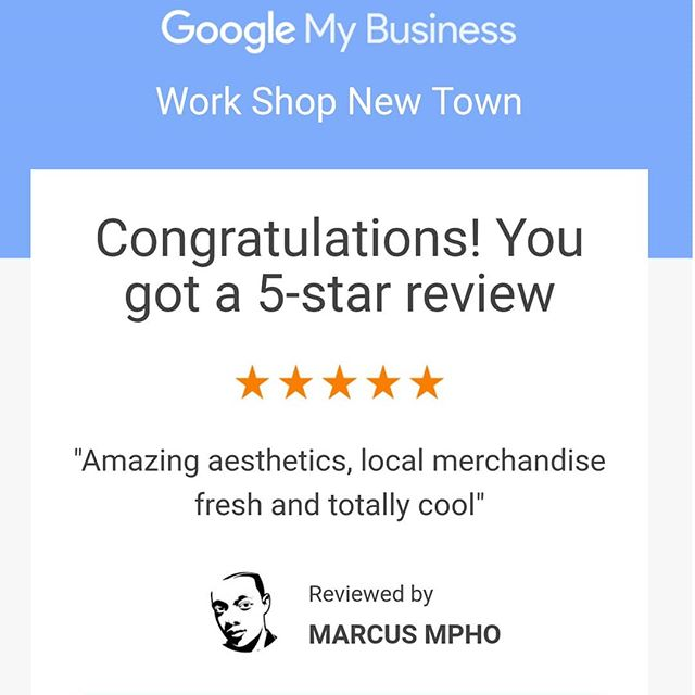 We are constantly growing and learning, so we're happy to read that there are customers who like what they see! #customerservice #customerappreciation #workshopnewtown #entrpreneurialspaces #Newtownjunction #mynewtown