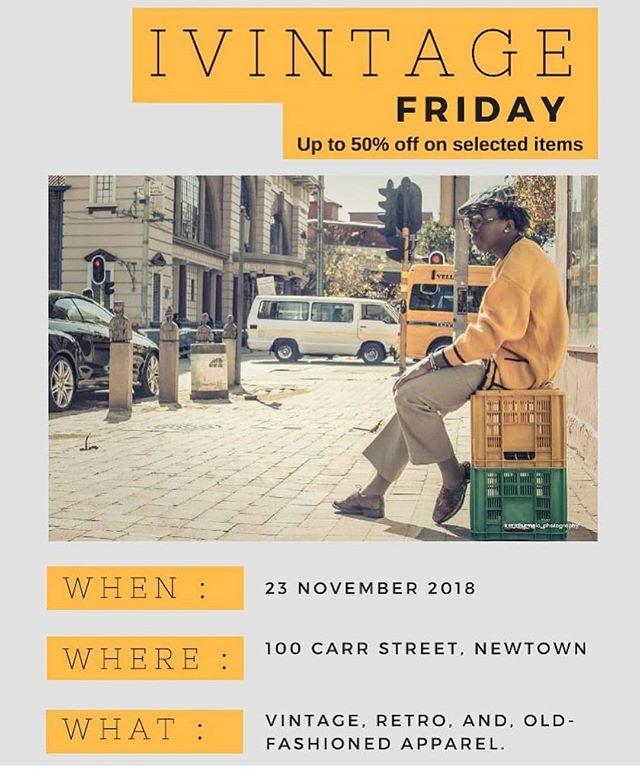 Love vintage? Love @ivintageyakho? We thought so. #vintageshopping #salesalesale #blackfriday #saleday #vintage #jozi #johannesburg #southafrica #workshopnewtown #mynewtown #africangirl #africancity #southafrica