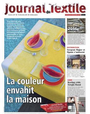 Mise au Green étend son réseau et son offre - JOURNAL DU TEXTILE - n°2277 du 14/12/15