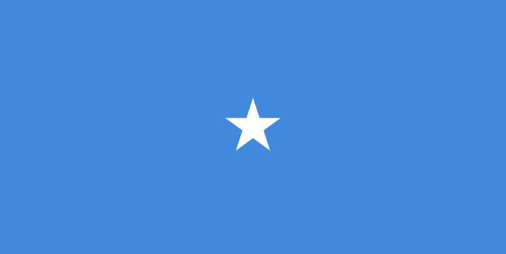 Drapeau de la République Fédérale de Somalie