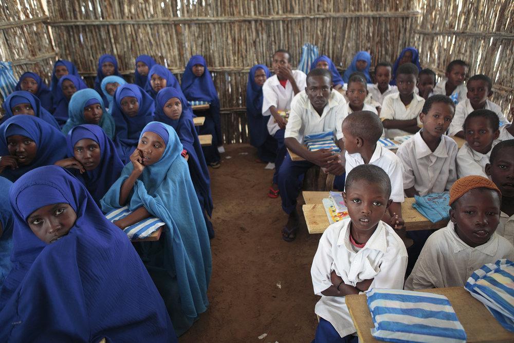 Salle de classe de l'école RAJO