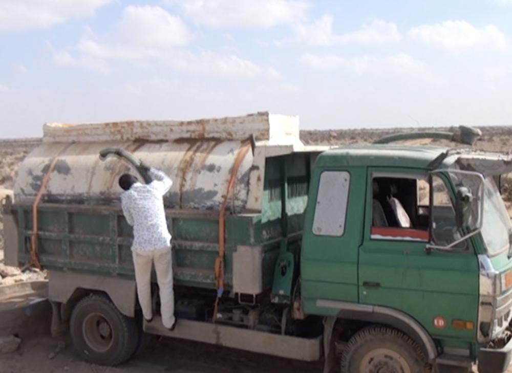 Préparation à la distribution d'eau