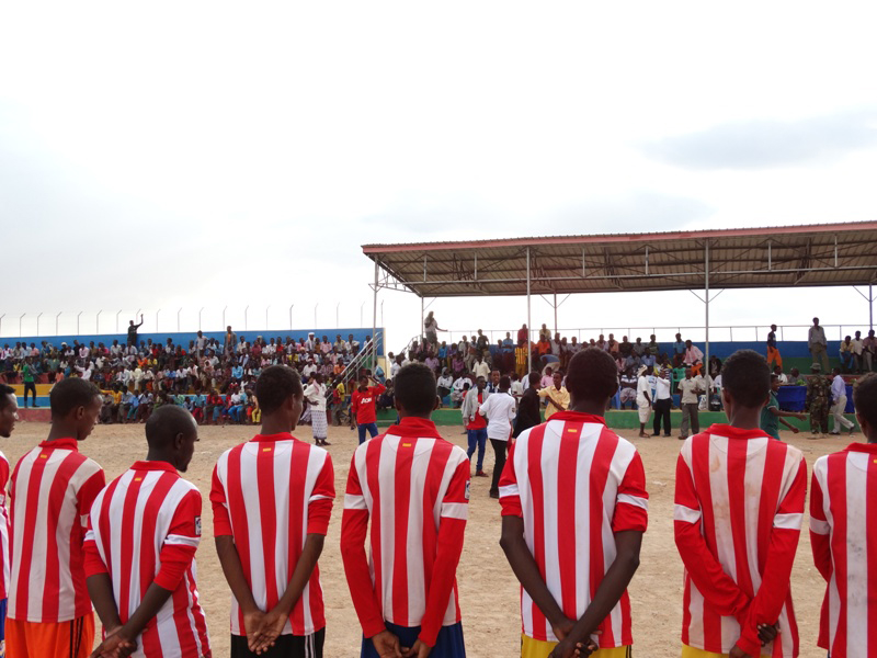 Inter-village tournaments promote sport in the region