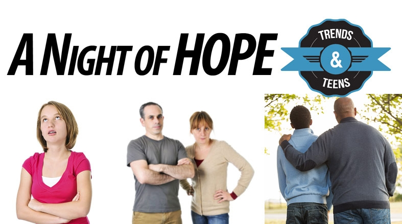 Night of Hope, our annual Mental Health Awareness evening in