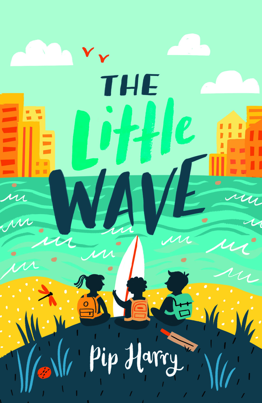 The Little Wave - When a Manly school sets out to bring a country class to the city for a beach visit, three very different kids find each other and themselves.Noah is fearless in the surf. Being at the beach makes him feel free. So where does his courage go when his best mate pushes him around?Lottie loves collecting facts about bugs, but she wishes her dad would stop filling their lonely house with junk. She doesn't know what to do about it. Jack wants to be a cricket star, but first he has to get to school and look after his little sister. Especially if he wants to go on the class trip and see the ocean for the first time.