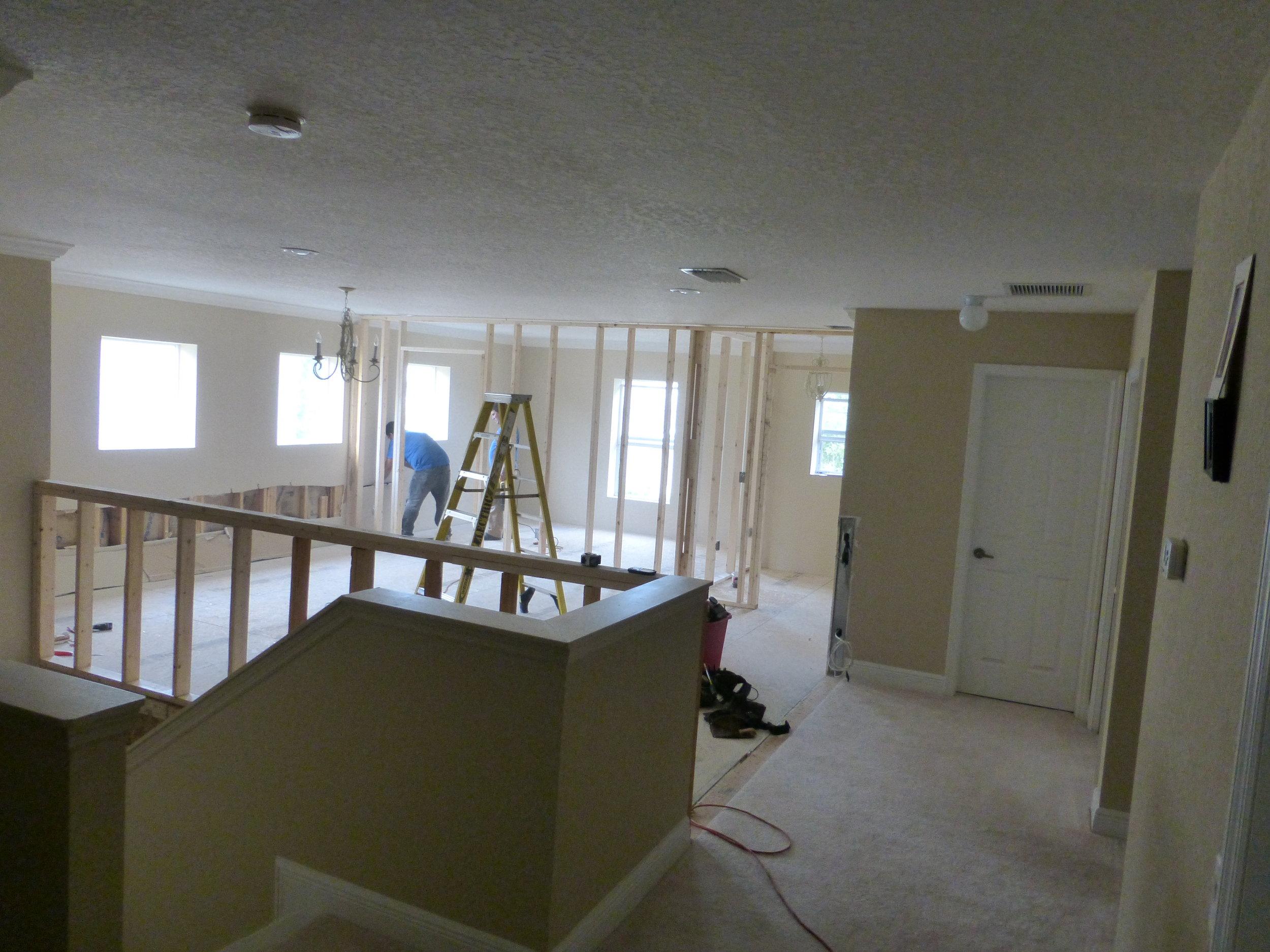 2nd floor addition