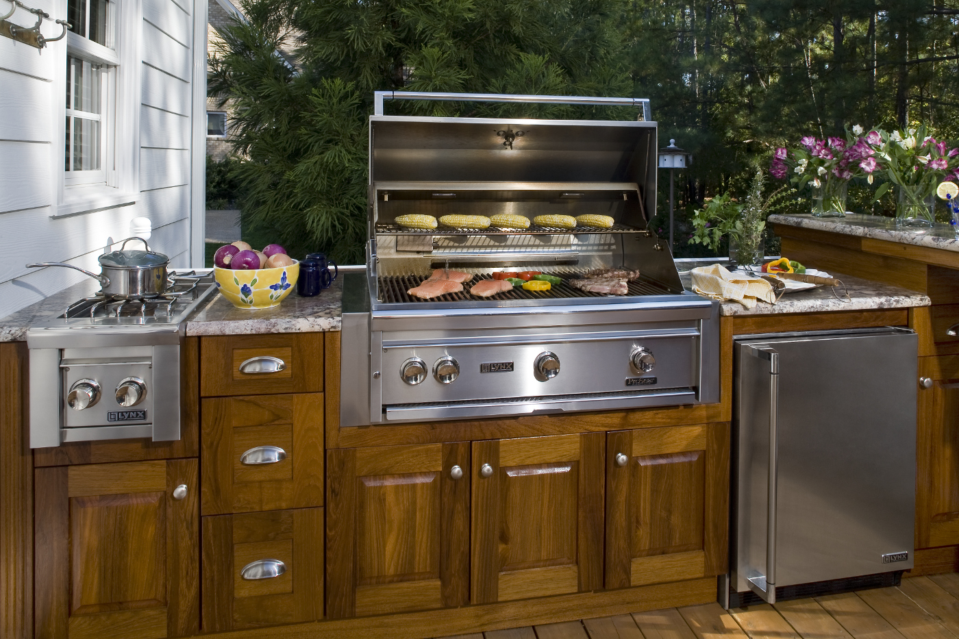 Outdoor Kitchen Living All Time Services