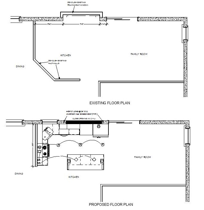 Ratlif kitchen plans