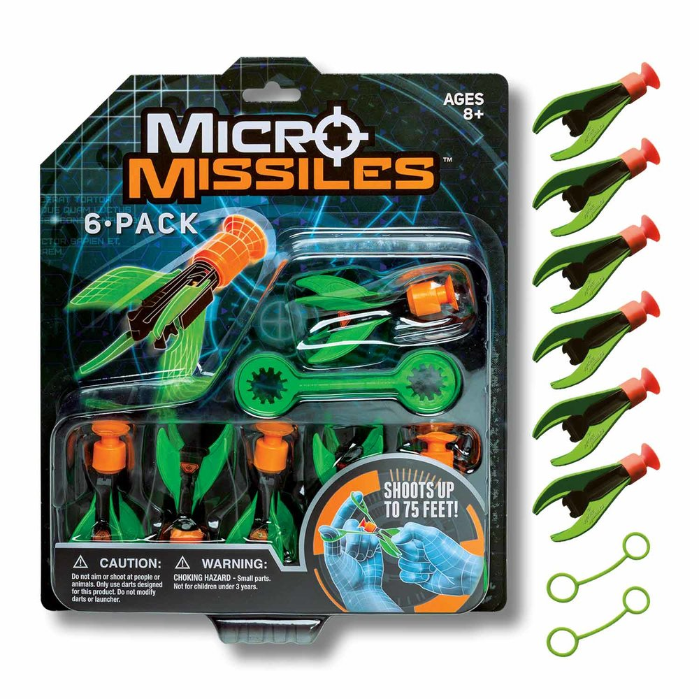 MICRO MISSILES™ 6 PACK