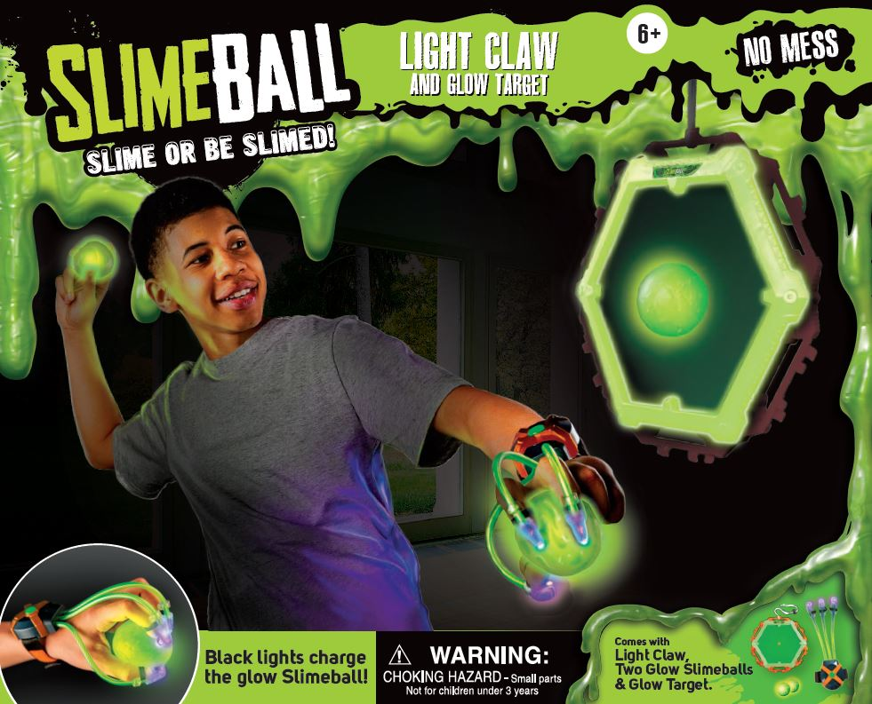 SLIMEBALL LIGHT CLAW AND TARGET
