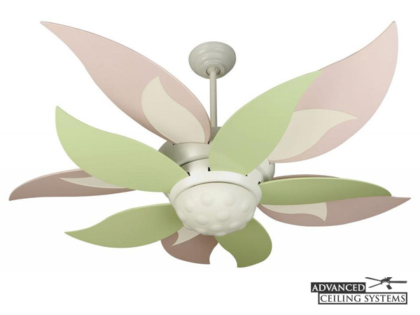 Cute ceiling fans for baby girl room