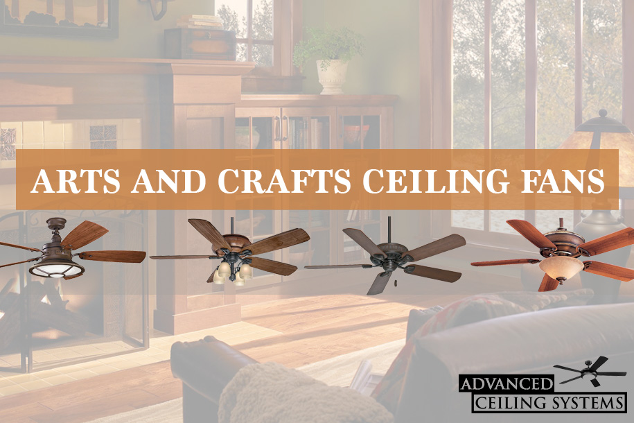 Best Arts And Craft Ceiling Fans   Arts And Craft Home Decor
