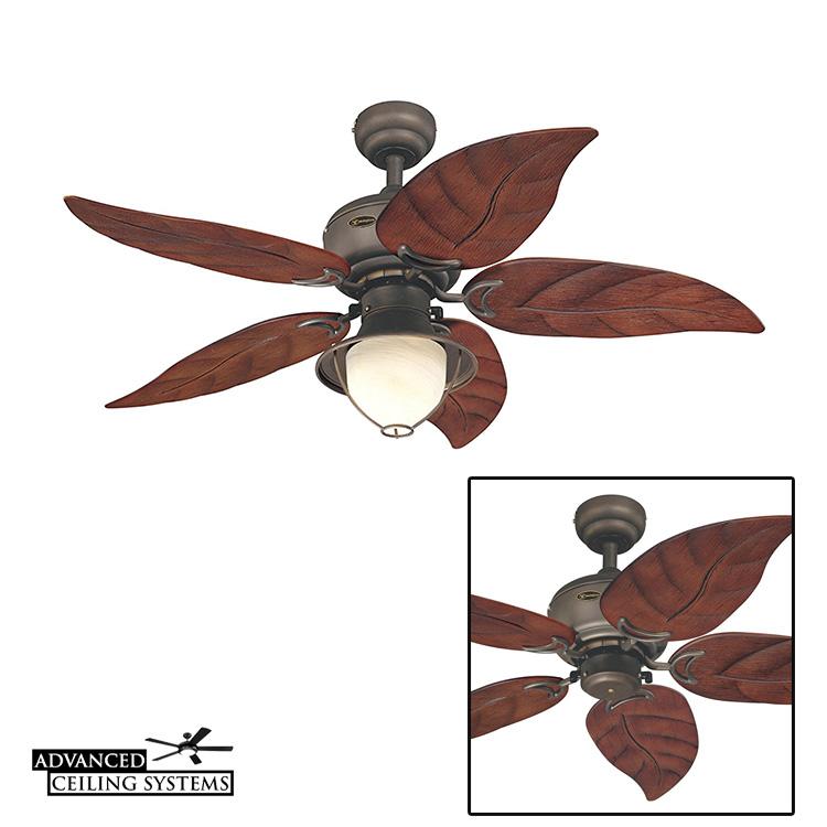 Coastal living ceiling fans - Rustic Beach style ceiling fan