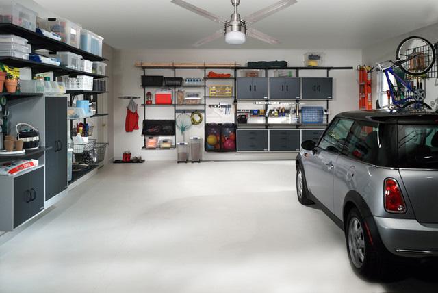 garage ceiling fan with light