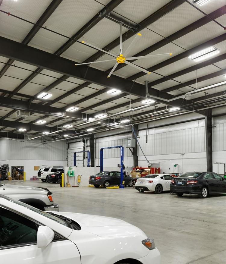 best fans for big garage
