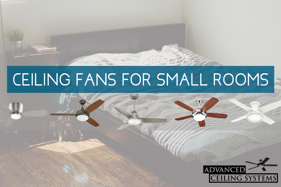 Best Ceiling Fans For Small Bedrooms - Quiet Performance for Small ...