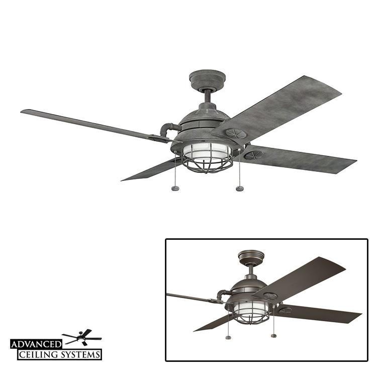 kichler maor 65u201d ceiling fan
