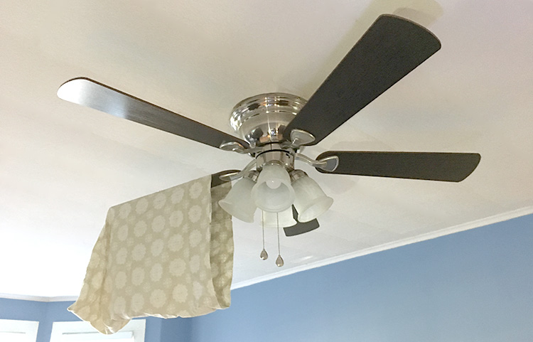 How to clean ceiling fans without getting dust everywhere advanced how to clean ceiling fans without getting dust aloadofball Image collections