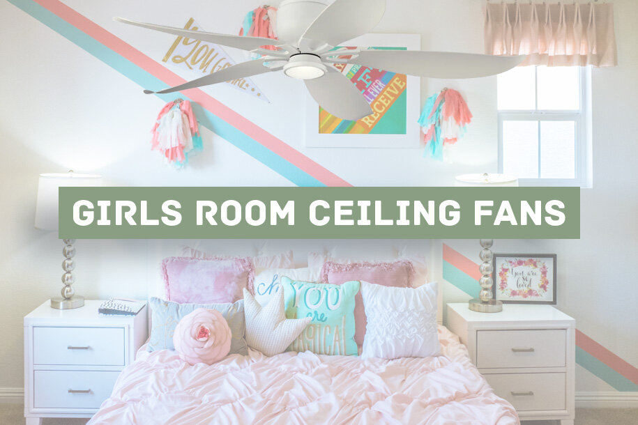 11 Best Girls Room Ceiling Fans Fun Unique And Pretty Advanced Systems