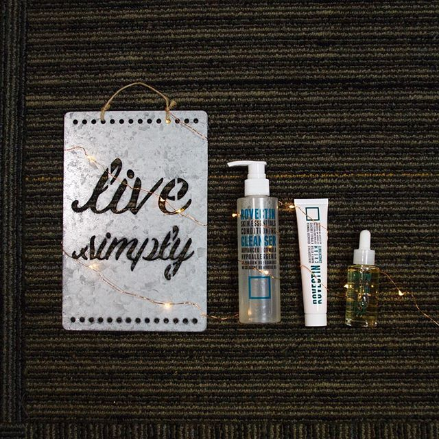 Live simply with Rovectin. . . #simplelife #simpleskincare #rovectin #cleanser #cream #faceoil #neroli