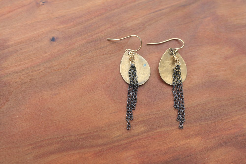 Original Hardware Earrings SallyMack Chapel Hill Jewelry
