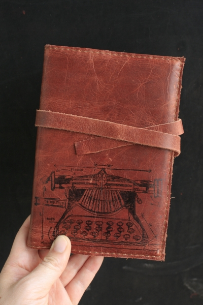 Leather Journal SallyMack Chapel Hill