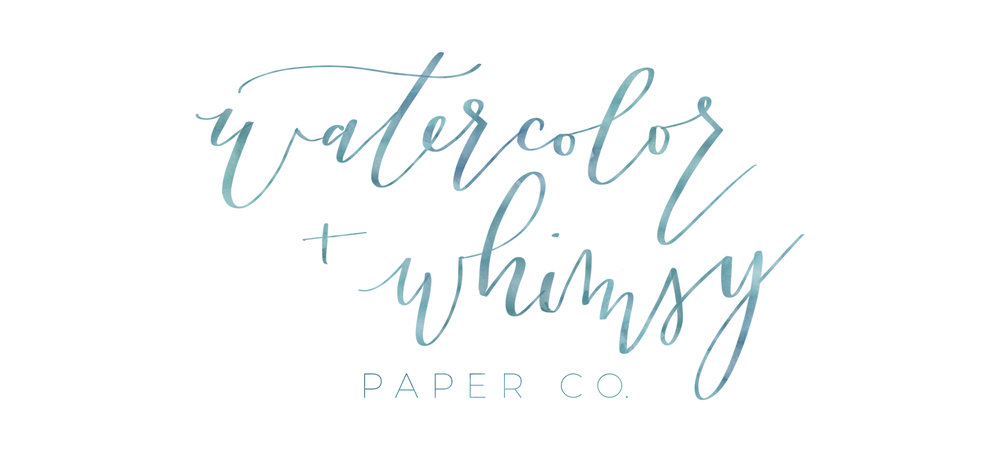 Watercolor + Whimsy Paper Co.