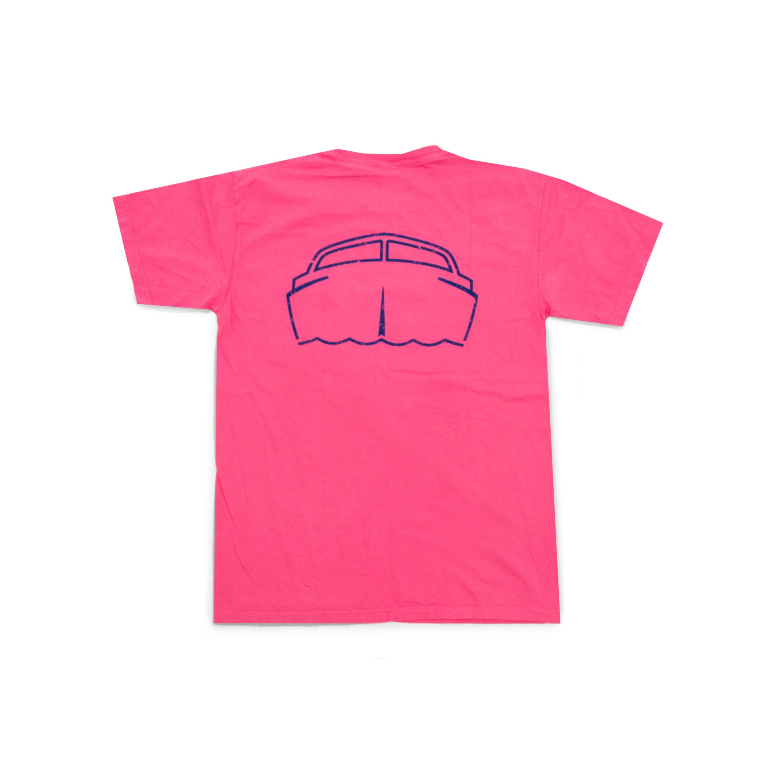 0bcca4e5 85 Miles Short-Sleeve Vintage Boat Pocket T-Shirt - Peony ...