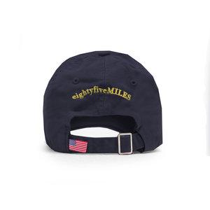 10e6ffe775a5c Boat Logo Baseball Cap - Navy 85 Miles Hat Back Navy.jpg