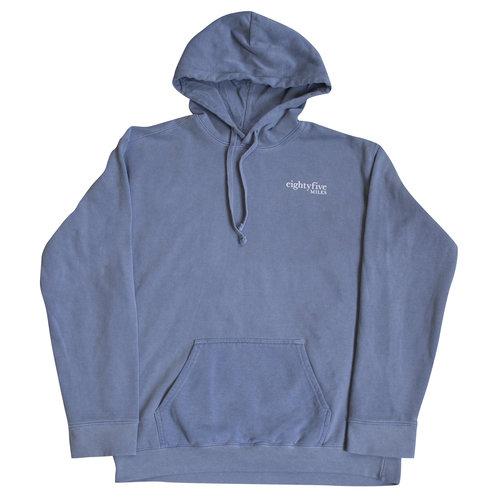 85 Miles Crisscross Pullover Hoodie - Blue Jean — eightyfive MILES ... 8d51bc28b0