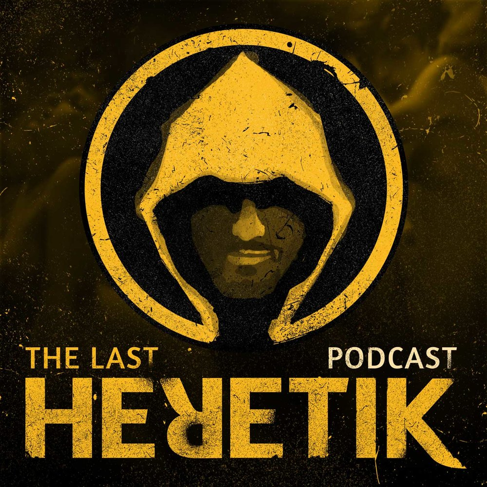 Podcast Cover Art - The Last Heretik
