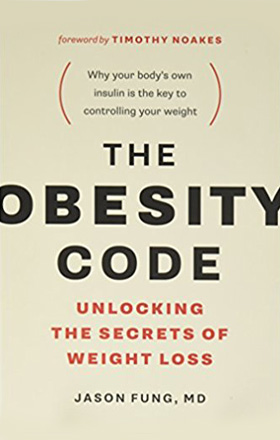 THE OBESITY CODE   by Dr. Jason Fung   buy in amazon