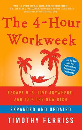 THE 4-HOUR WORKWEEK   by TIM FERRIS   buy in amazon