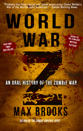 WORLD WAR Z   by Max Brooks   buy in amazon