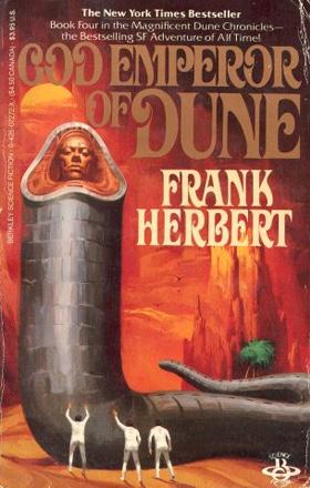 GOD EMPEROR OF DUNE  (1981) by Frank Herbert   buy in amazon