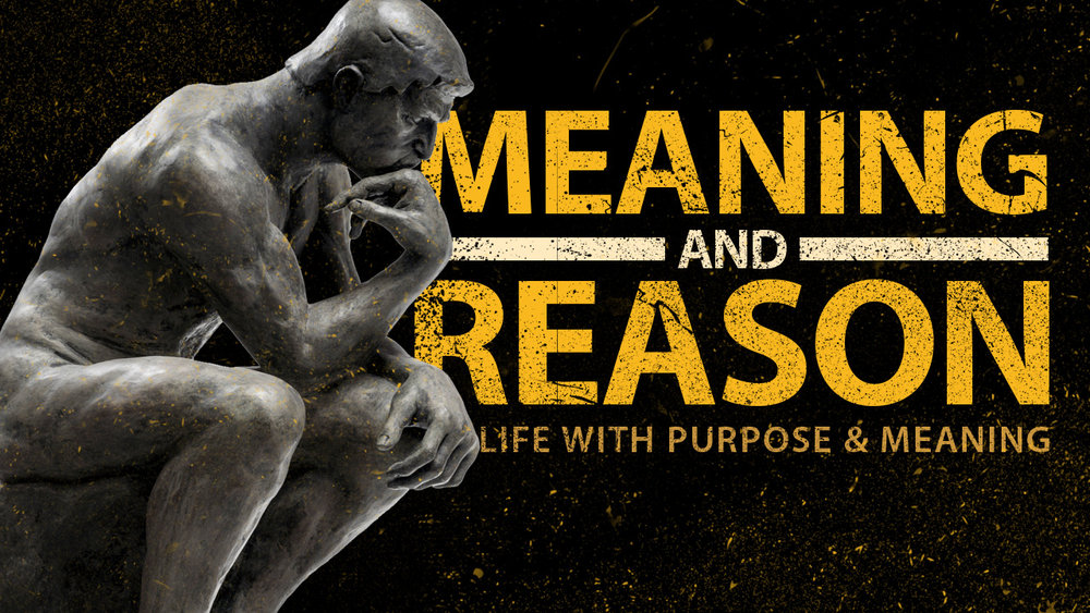 Podcast Episode Cover: Meaning and Reason