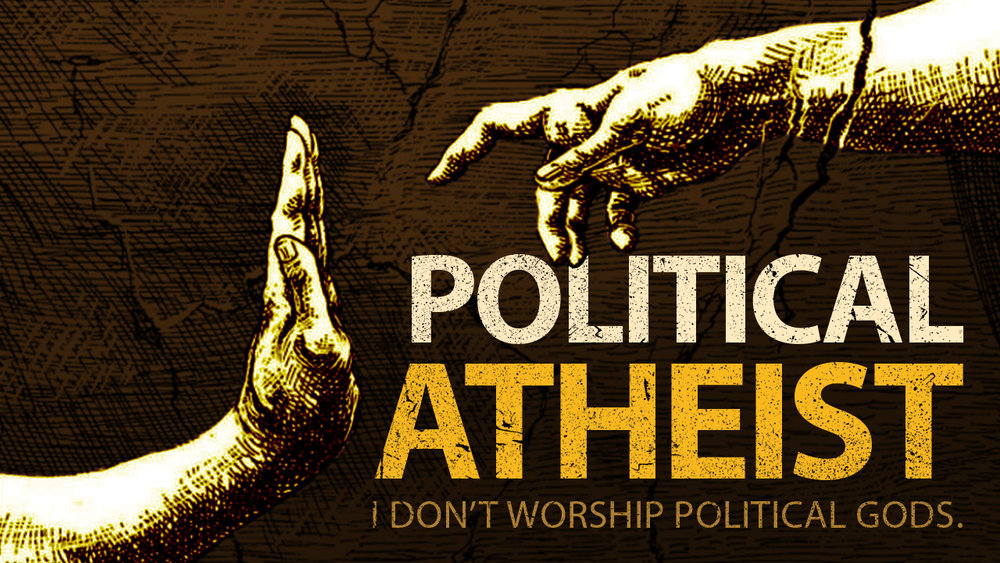 Podcast Episode Cover: Political Atheism