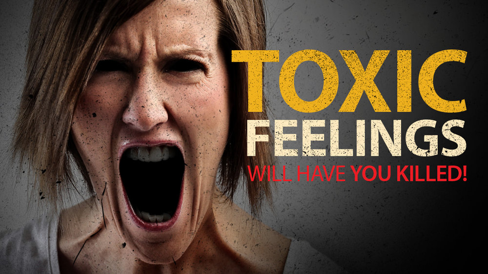 Podcast Cover: Toxic Feelings