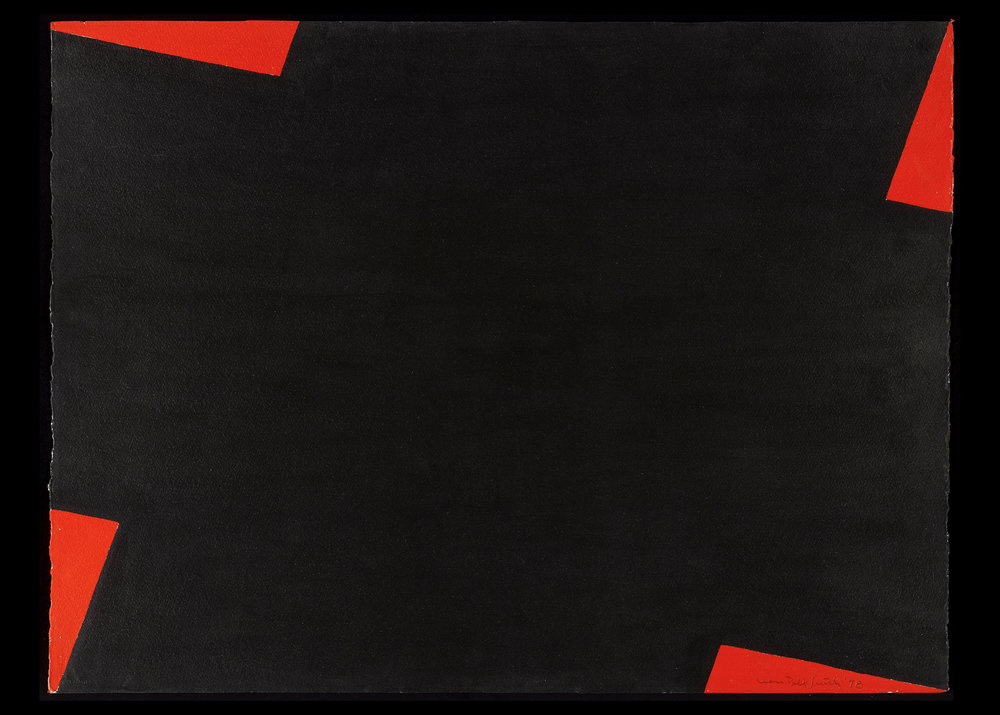 Leon Polk Smith (American, 1906-96) Untitled, 1978 Paint on paper 22 ¼ x 30 in. Leon Polk Smith Foundation, 1978.D.002