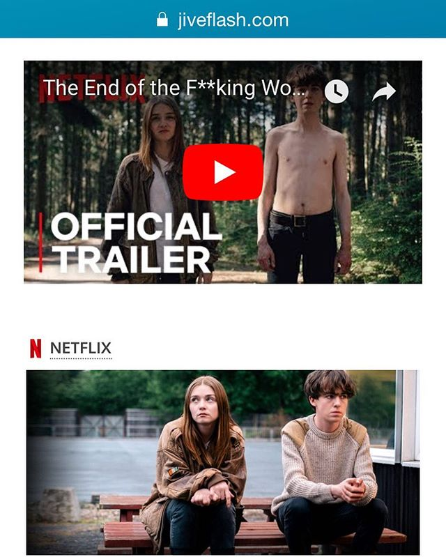 Read our #review on #endoftheworld via #netflix #linkinbio