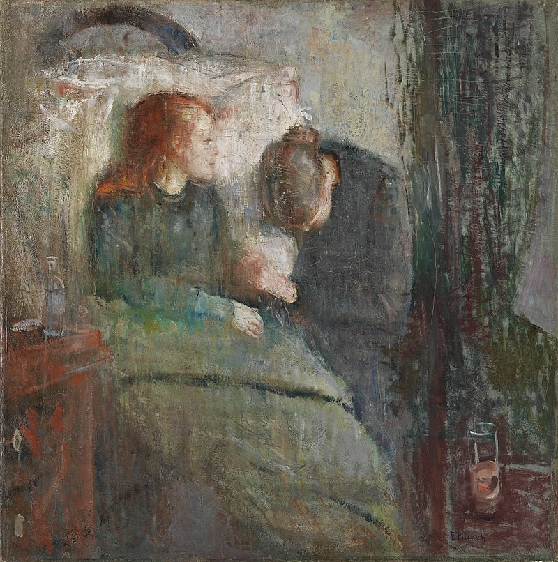 Edvard Munch, The Sick Child, 1885–86. The original version. Nasjonalgalleriet, Oslo.