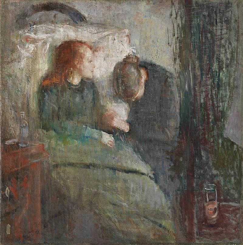Edvard Munch, The Sick Child, 1885–86. The original version. Nasjonalgalleriet, Oslo.