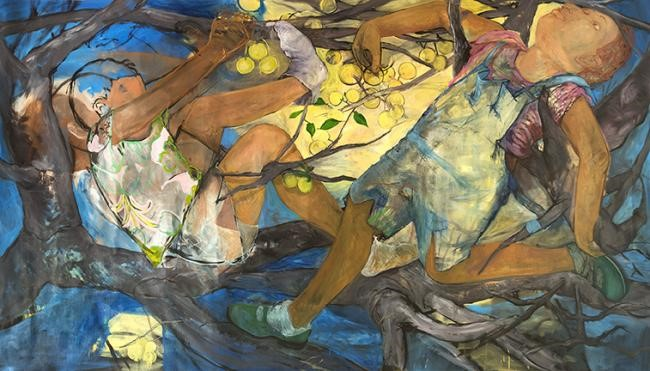 Image: Philemona Williamson,  Limbs , 2016. Oil on linen. Collection of Philemona Williamson. Image courtesy of the artist.