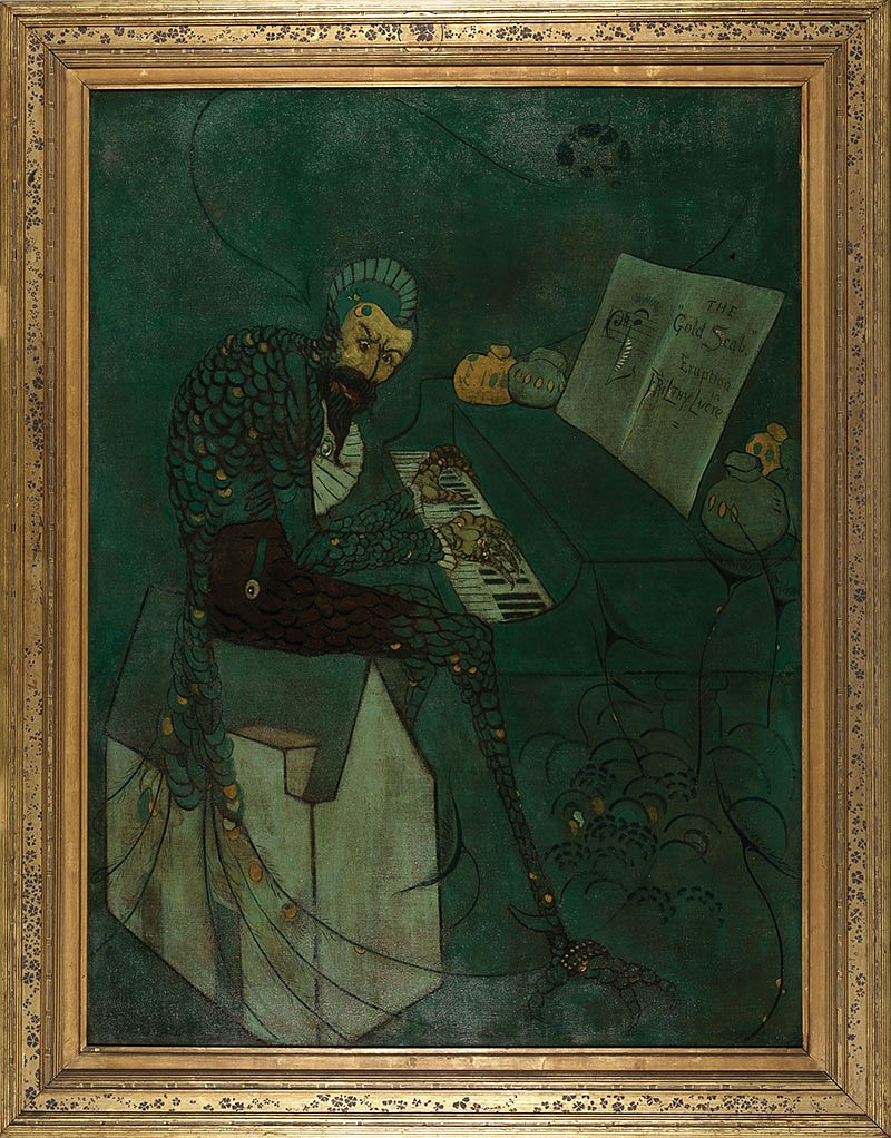 James McNeill Whistler 1879 Oil on canvas Frame designed and decorated by the artist, ca. 1872–73 Fine Arts Museums of San Francisco. Gift of Mrs. Alma de Bretteville Spreckels through the Patrons of Art and Music, 1977.11