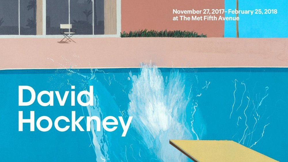 David Hockney (British, b. 1937). A Bigger Splash (detail), 1967. Acrylic on canvas. Tate, purchased 1981. © David Hockney. Photo © Tate, London, 2017.  Using the Metropolitan Museum's Press Page
