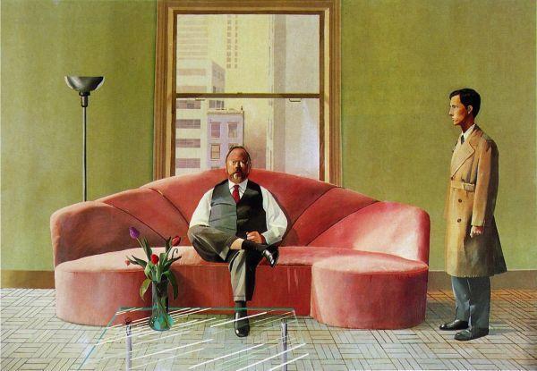 Hockney, David.Henry Gehlzaber and Christopher Scott. 1969. Metropolitan Museum of Art, New York City, New York.
