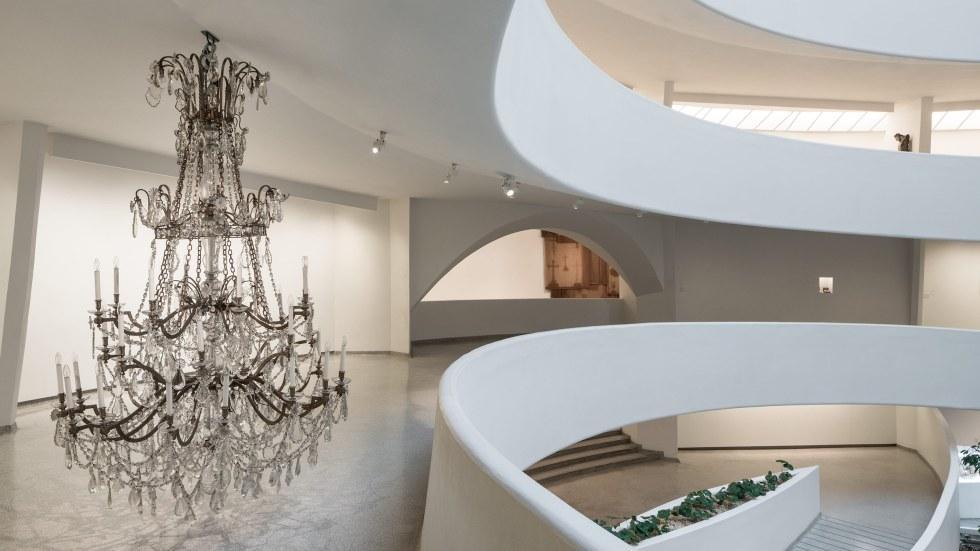Installation view: Danh Vo: Take My Breath Away.    Solomon R. Guggenheim Museum, New York    February 9-May 9, 2018    Photo: David Heald.     © Solomon R. Guggenheim, 2017.