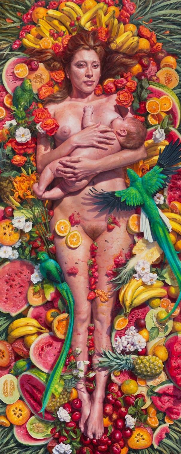 Copyright: Alonsa Guevara. Courtesy: Anna Zorina Gallery, New York City.